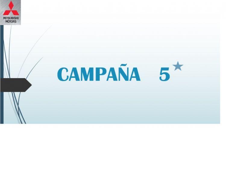CAMPAÑA ESPECIAL 5 ESTRELLAS