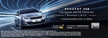 NUEVO PEUGEOT 308 CON MOTOR GASOLINA 130 CV