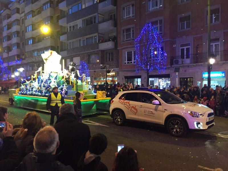 Asua Motor patrocina la Cabalgata de los Reyes Magos en Bilbao