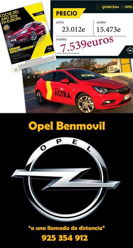 15 días Opel = 90.000€ de subvención para la compra de tu coche hasta el 25 de Septiembre