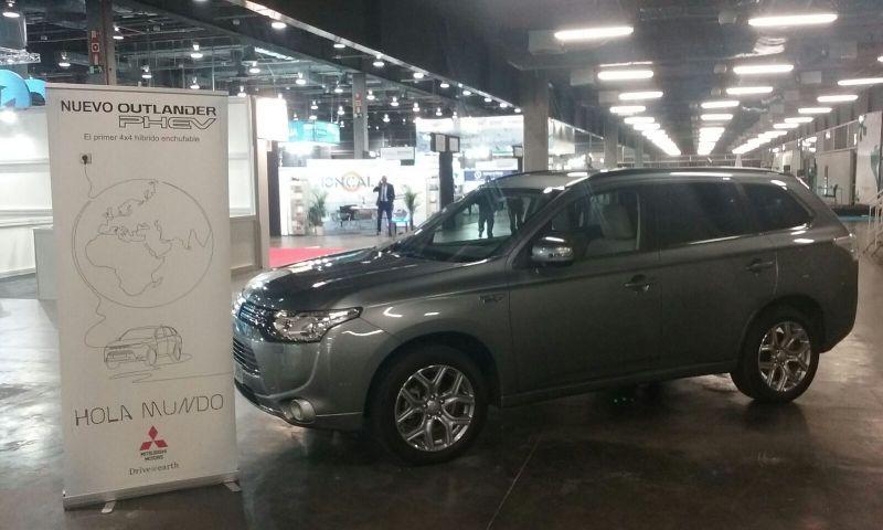 Mitsubishi Levante participa en las Ferias del Medio Ambiente con su reconocido Outlander PHEV
