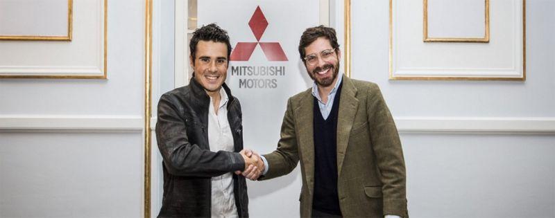 Mitsubishi y Javier Gómez Noya