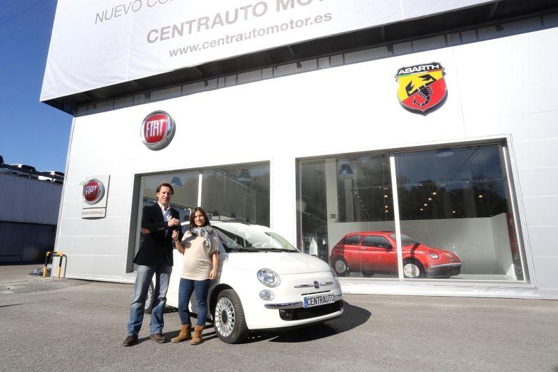 2ª GANADORA DEL SORTEO FIAT 500 EN EL DIARIO VASCO