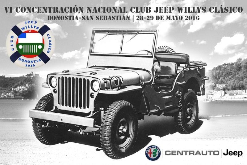 VI CONCENTRACIÓN NACIONAL CLUB JEEP WILLYS CLÁSICO - SAN SEBASTIÁN