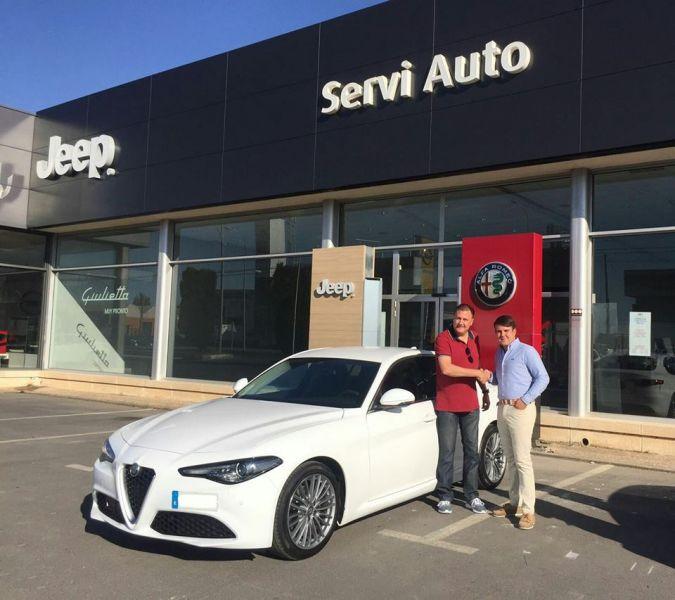 El Alfa Romeo GIULIA ya esta en la calle