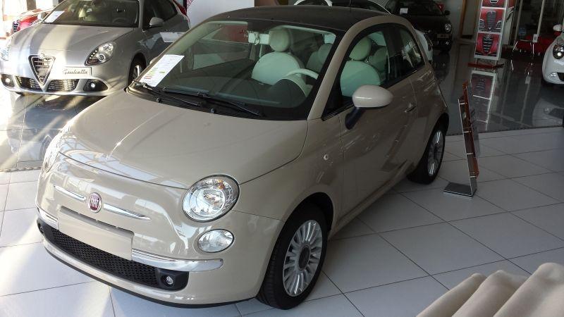 FIAT 500 1.2 8V 69 CV LOUNGE POR 10.372 EUROS