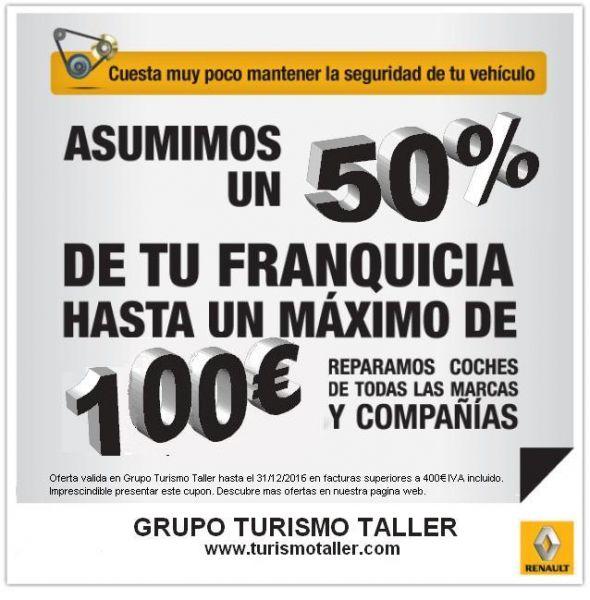 50% DESCUENTO EN TU FRANQUICIA