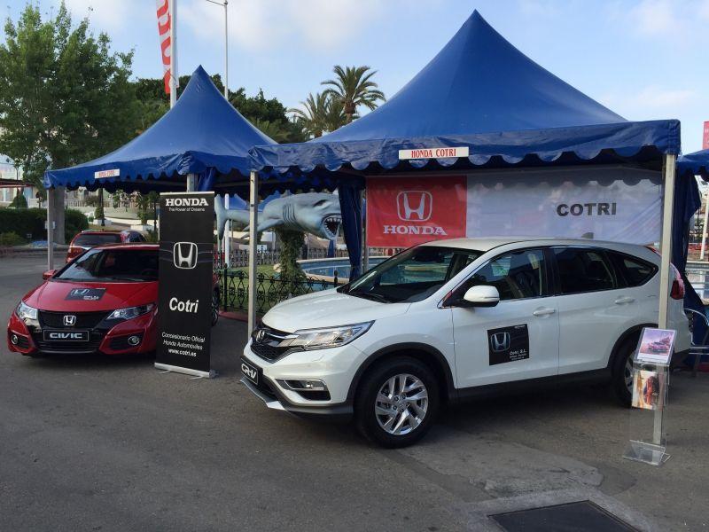 Feria del automovil en Tivoli