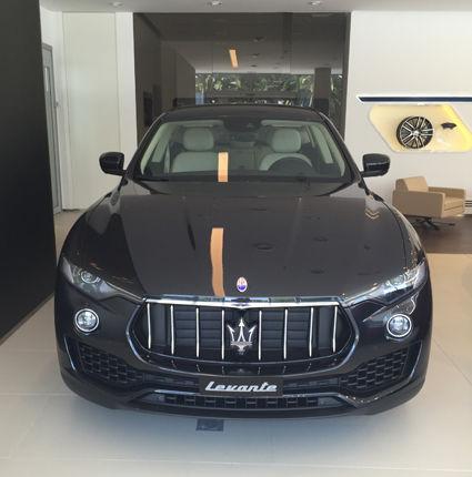 El nuevo Maserati Levante llega a Terry Gallery.