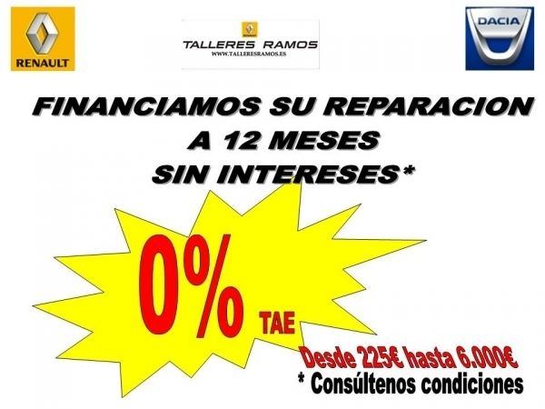 FINANCIAMOS SU REPARACIÓN