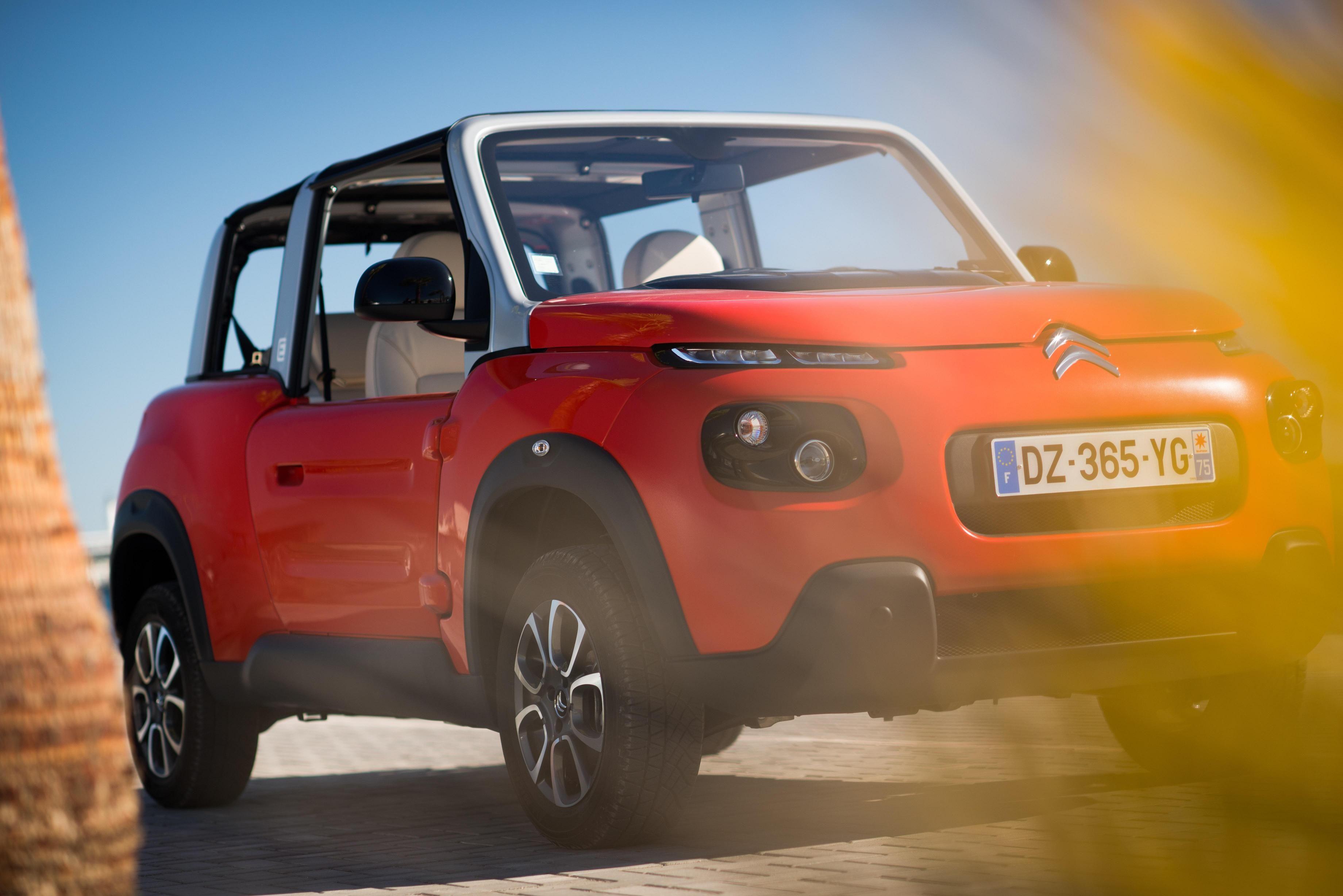 Citroën E-MEHARI: llega el cabriolet 100% eléctrico