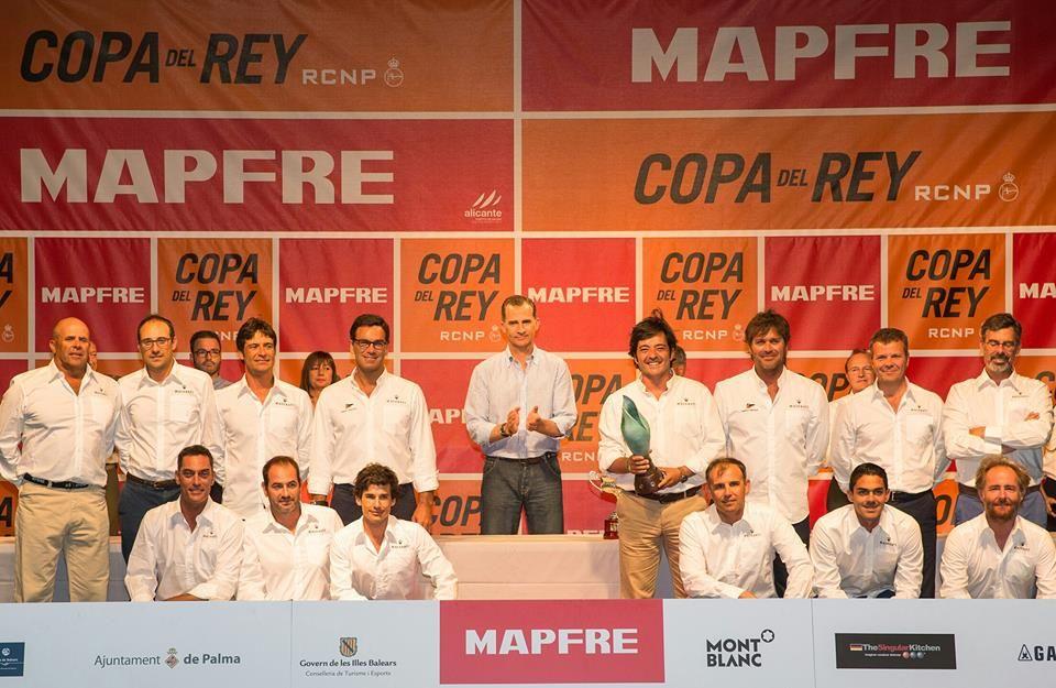 Maserati, ganador de la clase ORC1 de la 35ª Copa del Rey Mapfre 2016.
