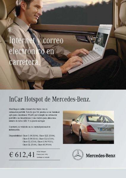 Internet y correo electrónico en carretera