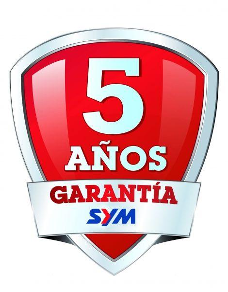GARANTIA 5 AÑOS SYM