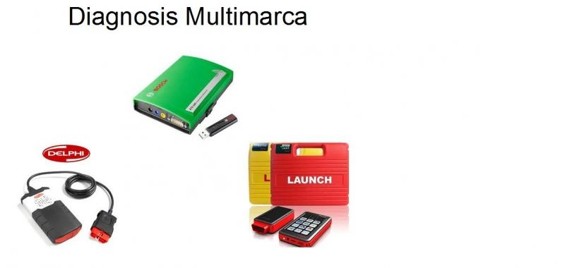 Diagnosis Multimarca (Bosch, Delphi, Launch)