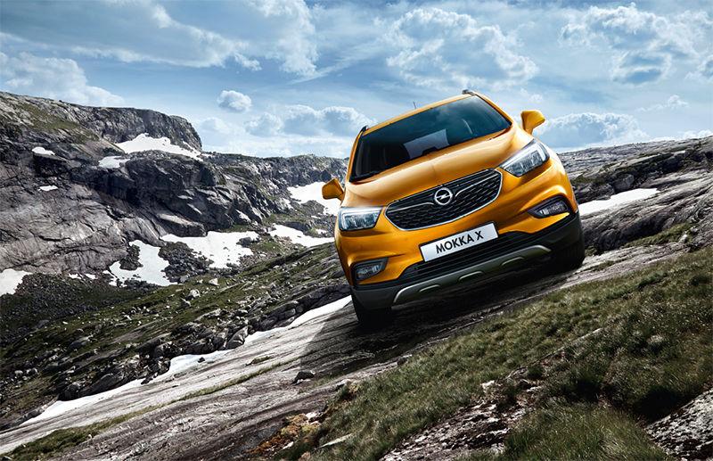 El primer Opel Mokka X sale de la planta de Figueruelas.