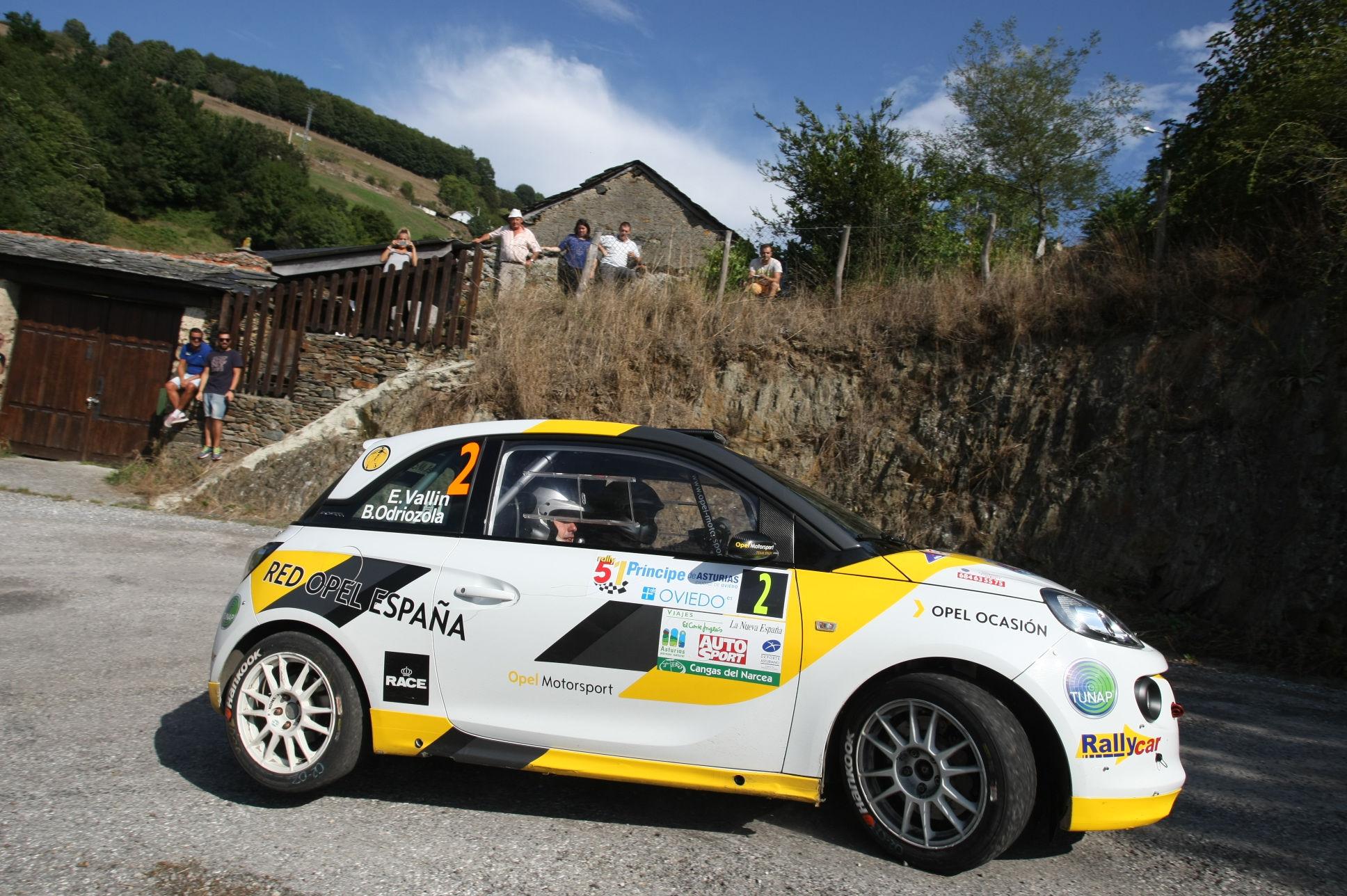 Opel participa en el 53 Rally Princesa de Asturias