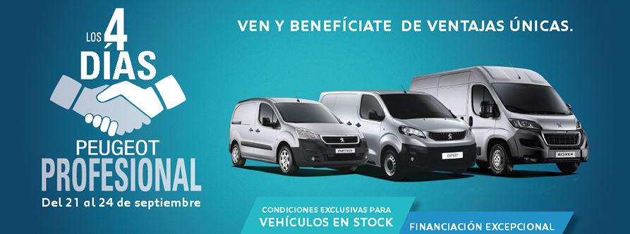 4 días Peugeot Profesional en Dimonorte Automóviles, Concesionario Oficial para Santiago y Comarcas