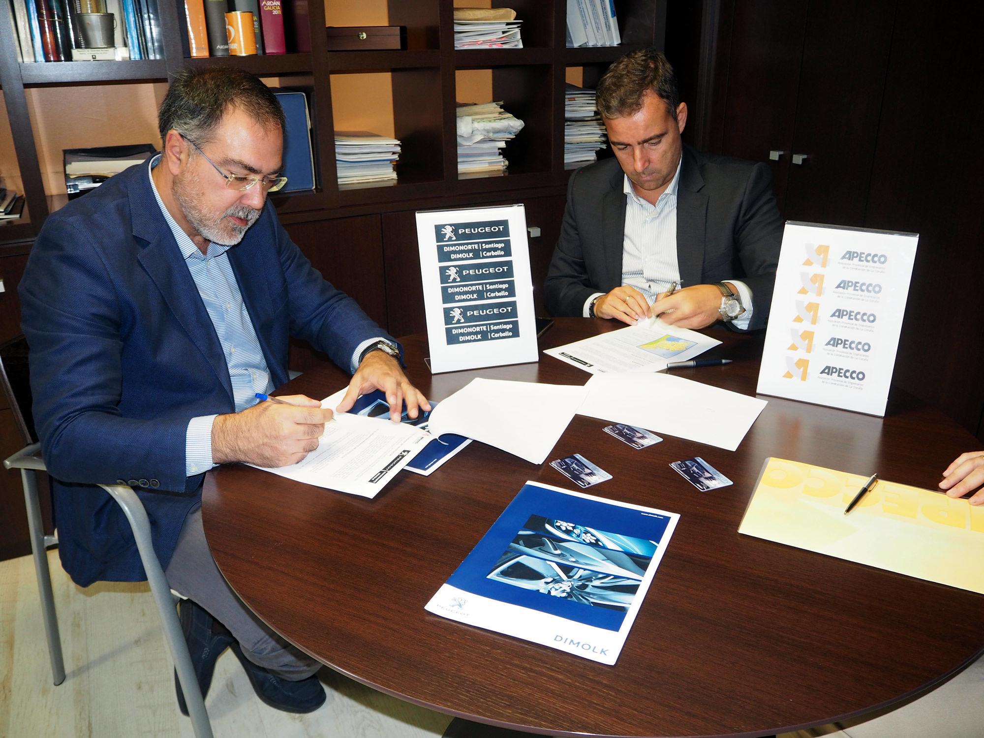 Firma de Convenio entre APECCO y Peugeot Dimonorte