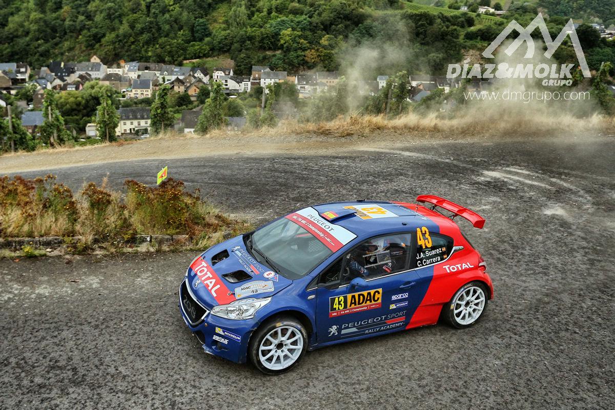 La Peugeot Rally Academy se prepara para el mítico Tour de Córcega