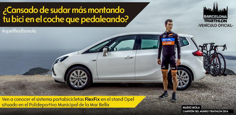 Opel te lleva a la Triathlon de Barcelona