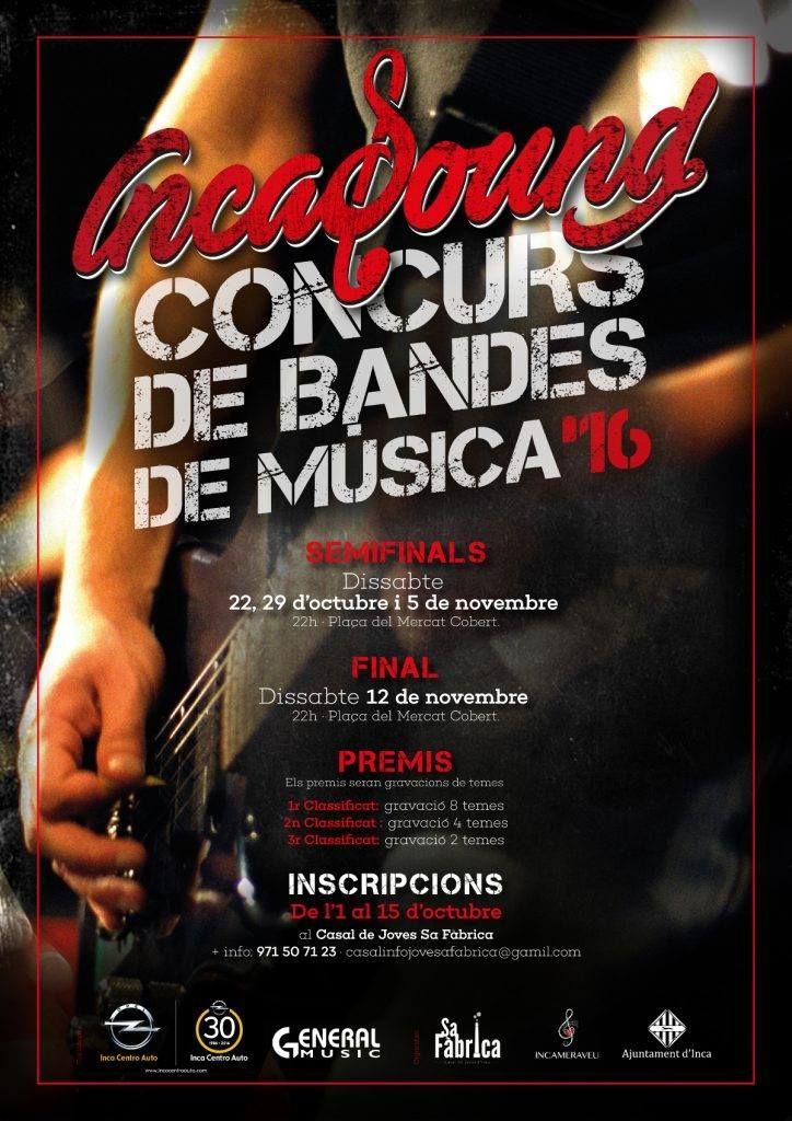 OPEL Inca Centro Auto con nuestras bandas en IncaSound. No te lo puedes perder!!!