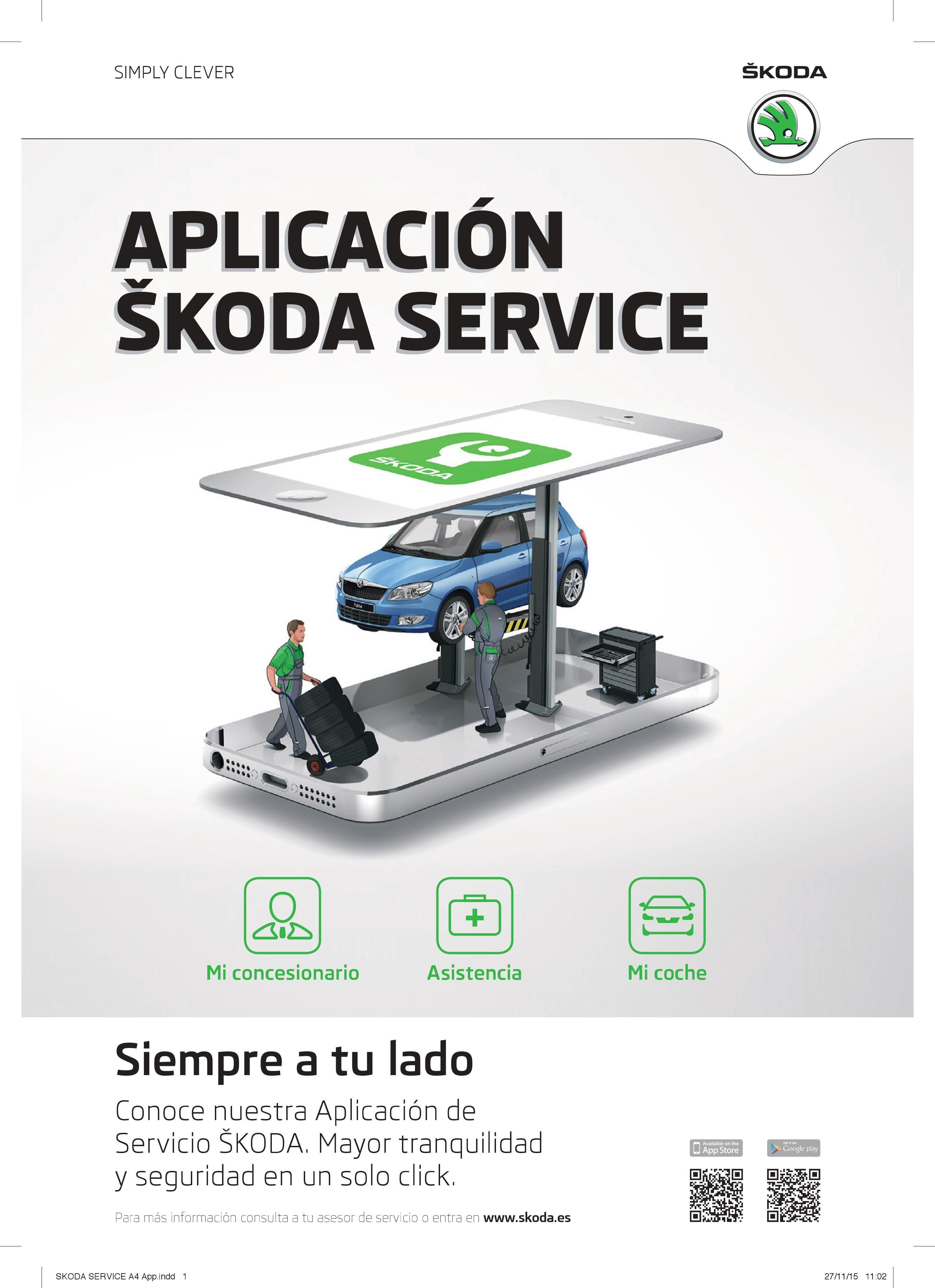 Aplicación SKODA Service