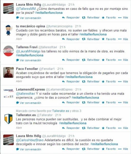 DEBATES | El mundo de la posventa del automóvil en Twitter