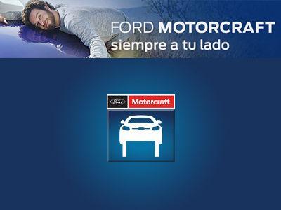 Servicio de mantenimiento Ford Motorcraft  por sólo 109€ *