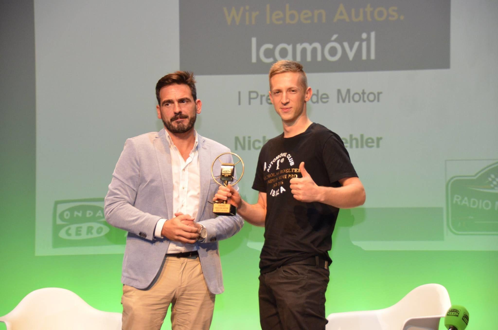 OPEL Icamóvil  - Ibiza entregó el I Premio del Motor Onda Cero Ibiza y Formentera