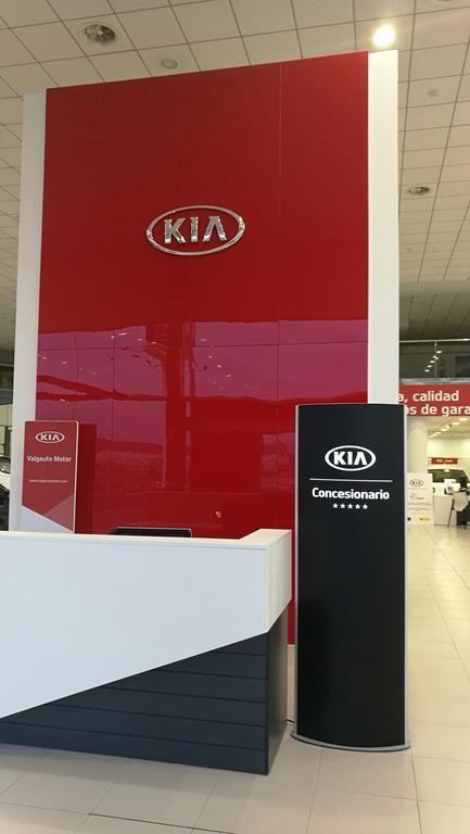 """Kia Valgauto Motor, """"Instalación 5 estrellas"""""""