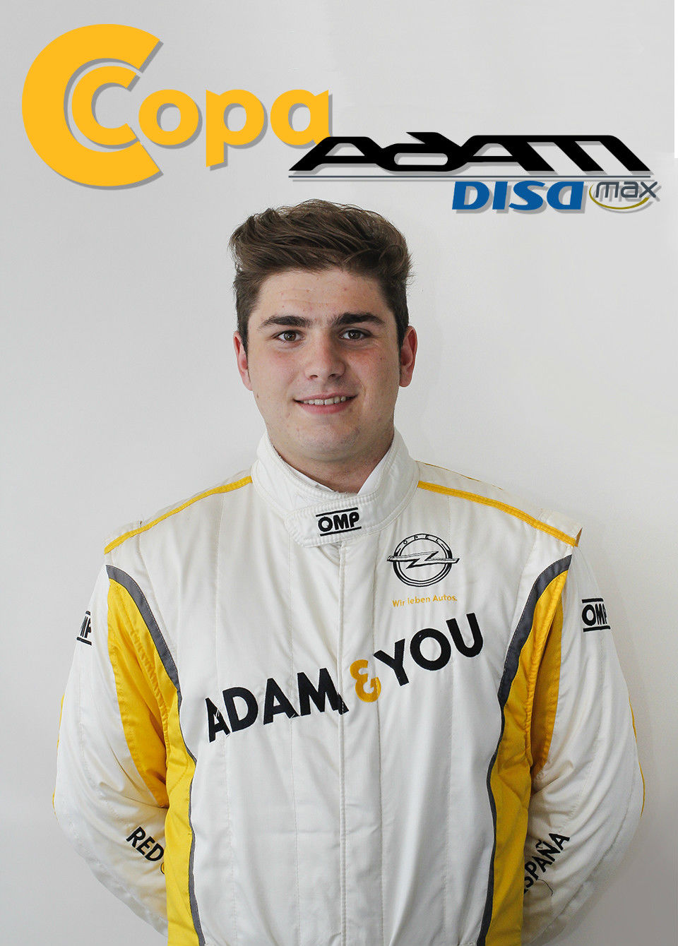 Ángel Paniceres pilotará el Opel Adam N3 de la Copa Adam DISAmax