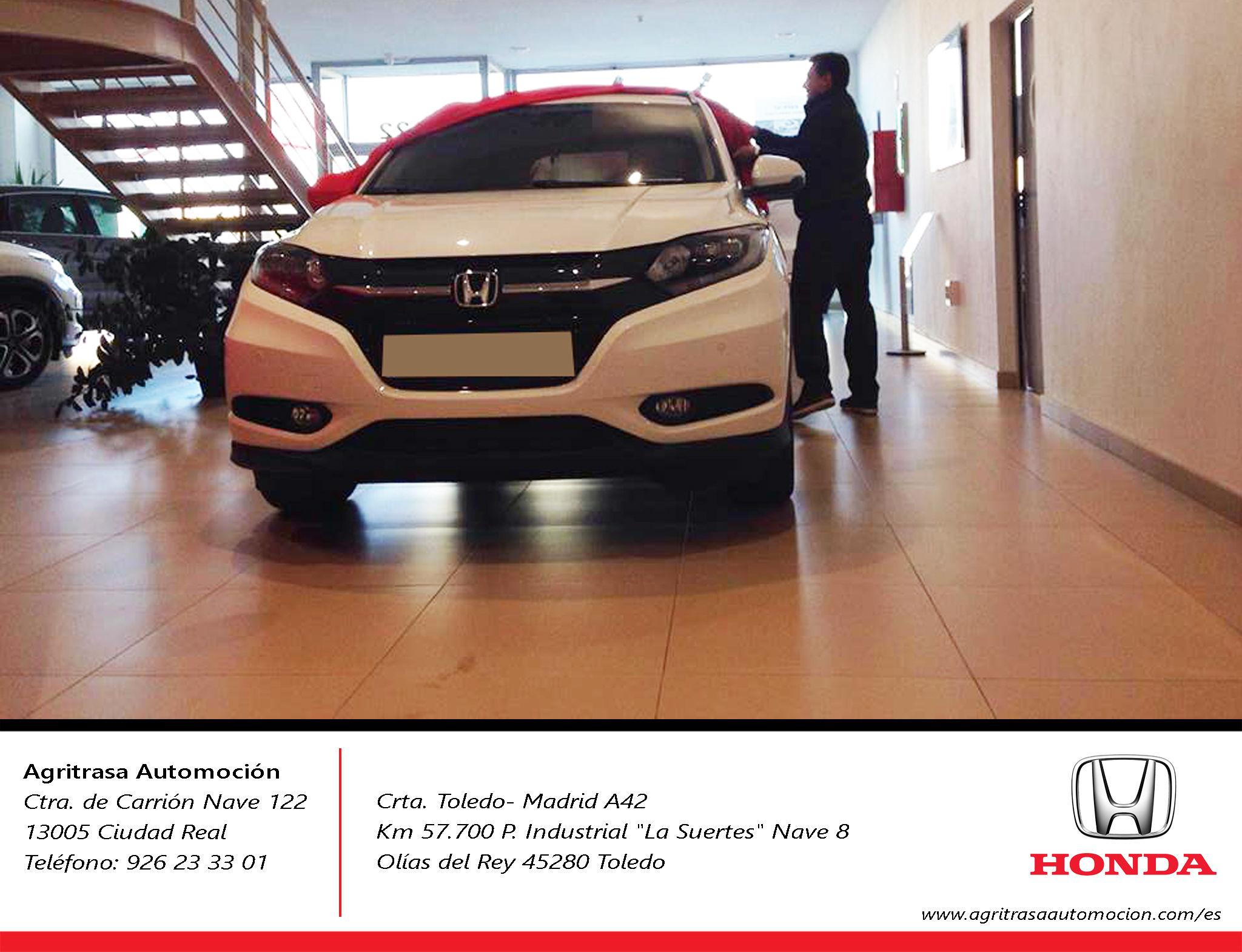 Entrega Honda HRV a Daniel