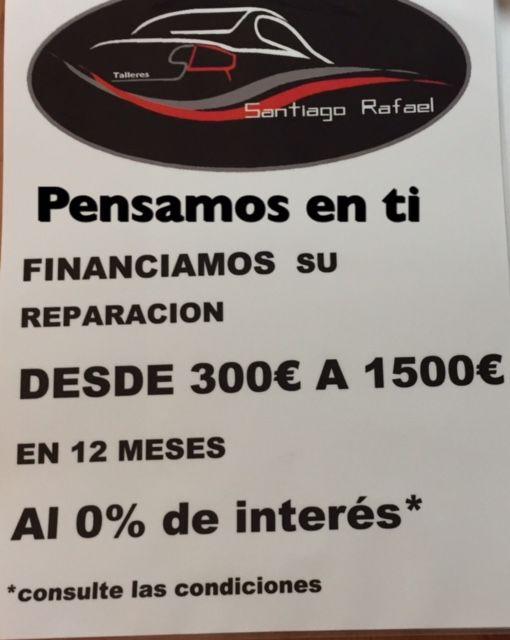 TE FINANCIAMOS TU REPARACION HASTA 12 MESES SIN INTERESES