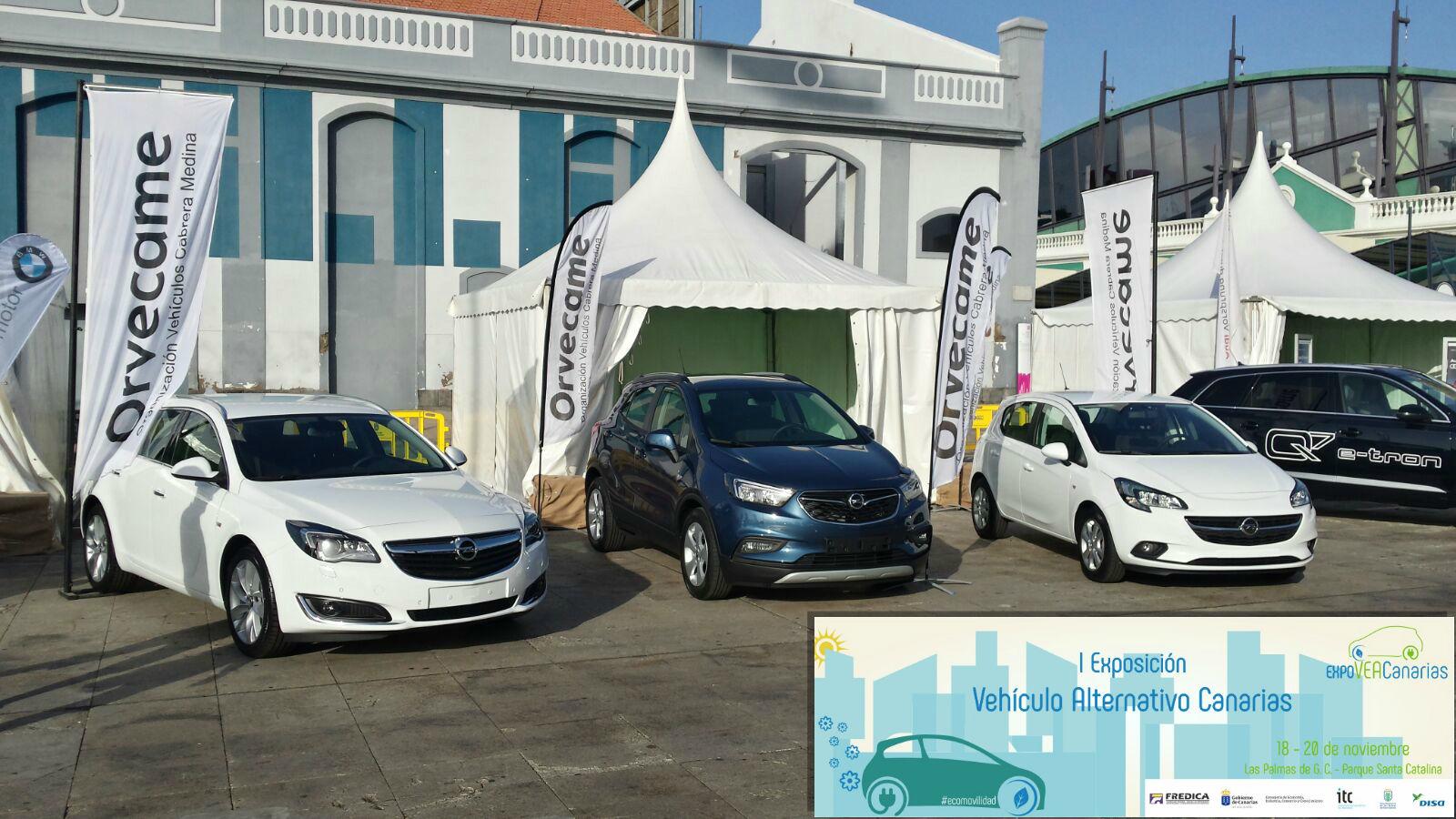 Orvecame Gran Canaria participa en la I Exposición Vehículo Alternativo Canarias – ExpoVEACanarias.