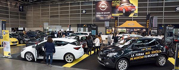 OPEL VARA DE QUART EN LA FERIA DEL AUTOMÓVIL 2016
