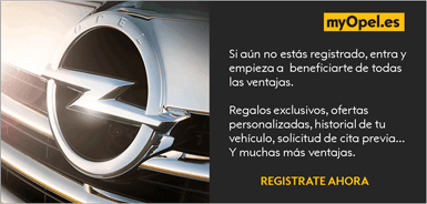 Registrate en myOpel