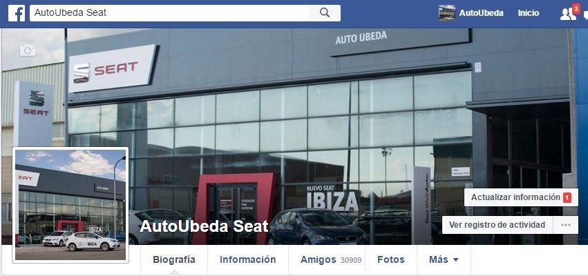 Auto Úbeda en Facebook