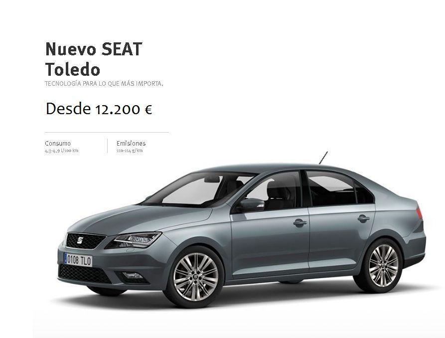 Nuevo SEAT Toledo desde 12.200 €, TECNOLOGÍA PARA LO QUE MÁS IMPORTA.