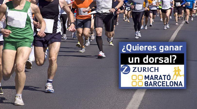 Sorteo de 3 dorsales + 3 camisetas para correr la Marató