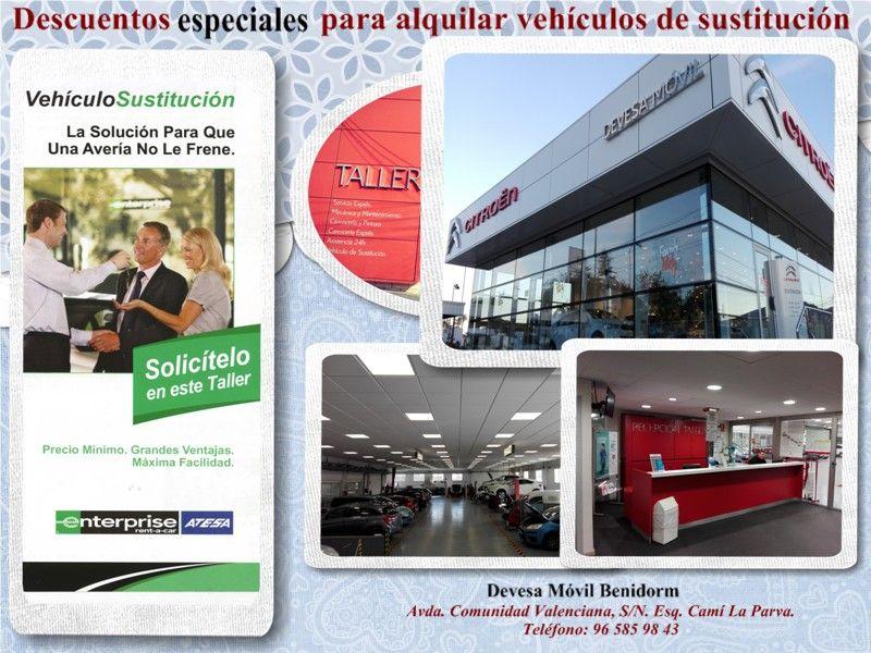 Devesa Móvil y Atesa ofrecen descuentos especiales para alquilar vehículos de sustitución