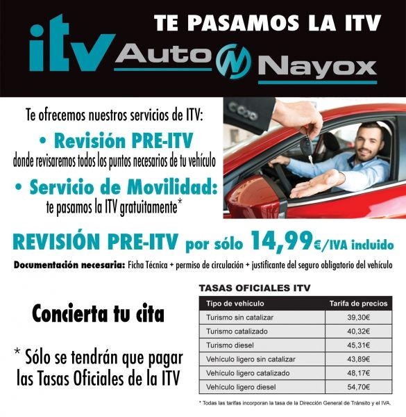 TE PASAMOS LA ITV