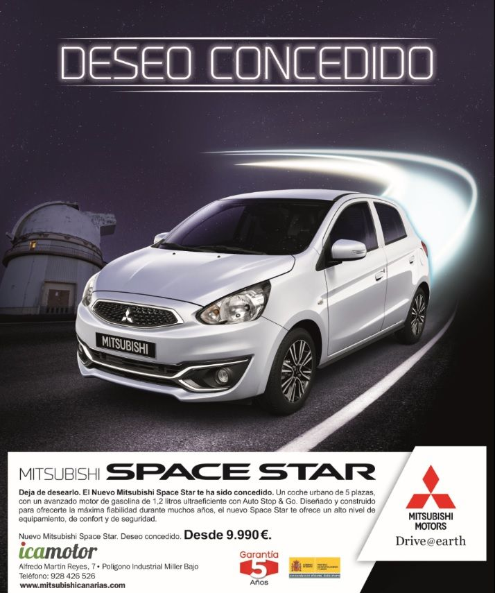 SPACE STAR DESDE 9.900€