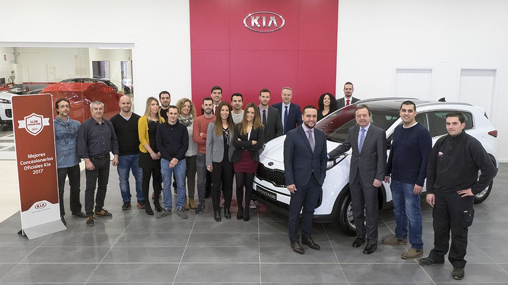 KIA Integral Car, miembro del Club Champions