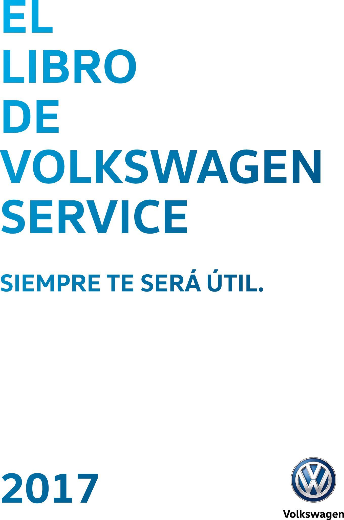 Libro Volkswagen Service 2017