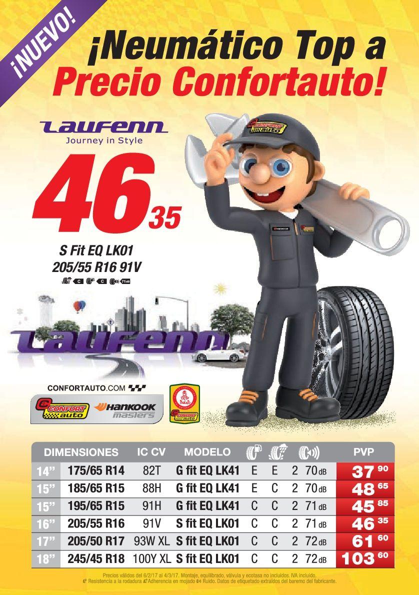 Disfruta de nuestra campaña de precios de Febrero en  #Neumaticos #Laufenn fabricados por #Hankook !!!