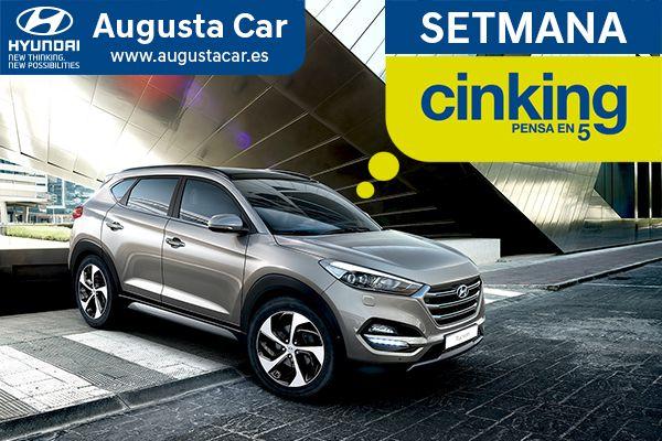 Setmana Cinking de Hyundai: Aprofita les condicions especials en tota la gamma Hyundai fins el 15 de febrer