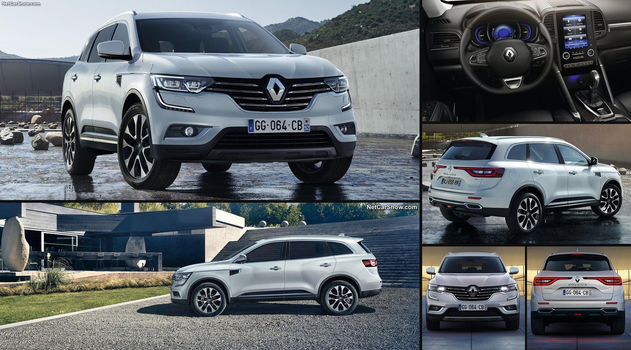 Renault Koleos 2017, a la venta en primavera