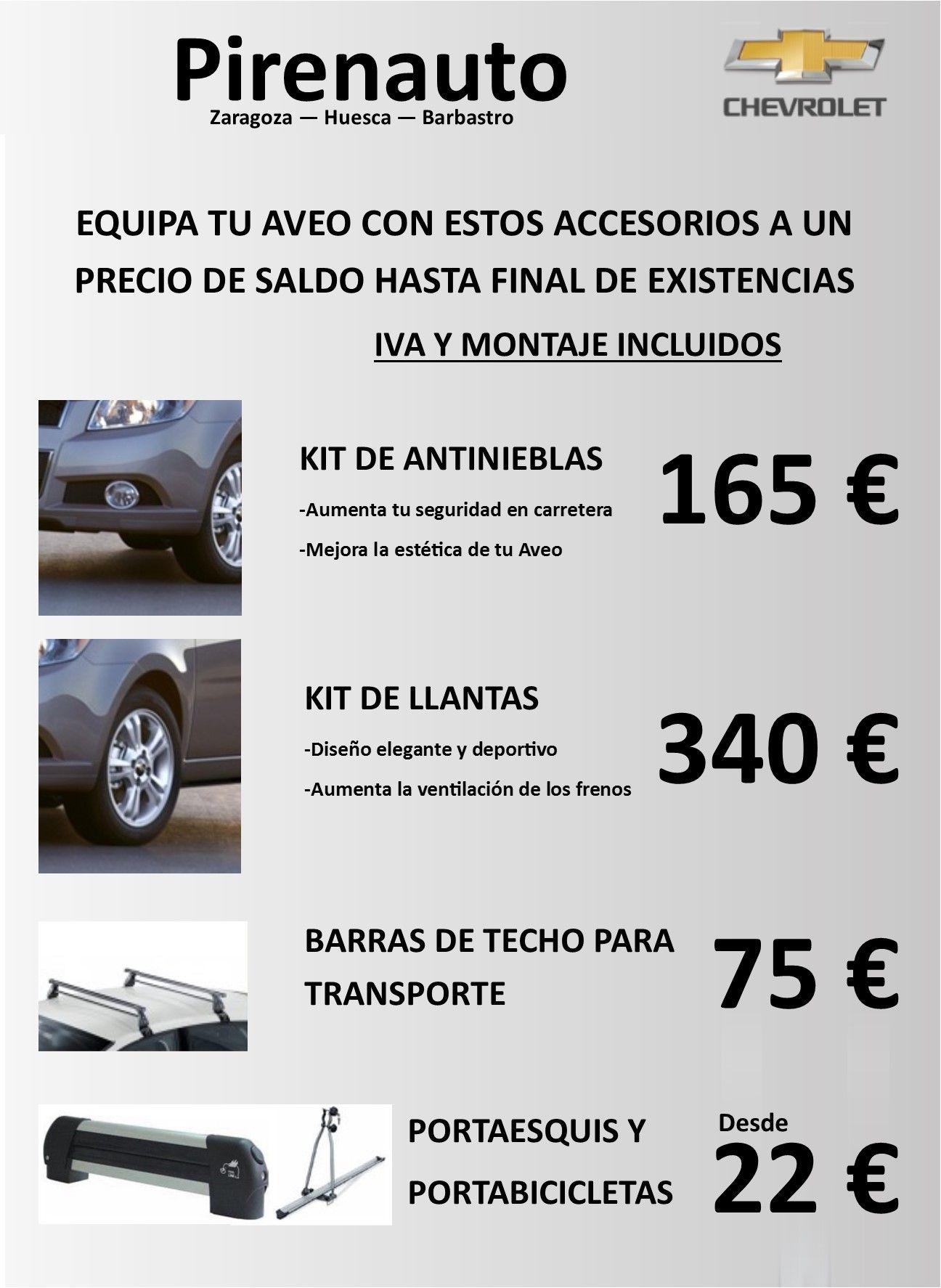 Promocion Acesorios originales Chevrolet