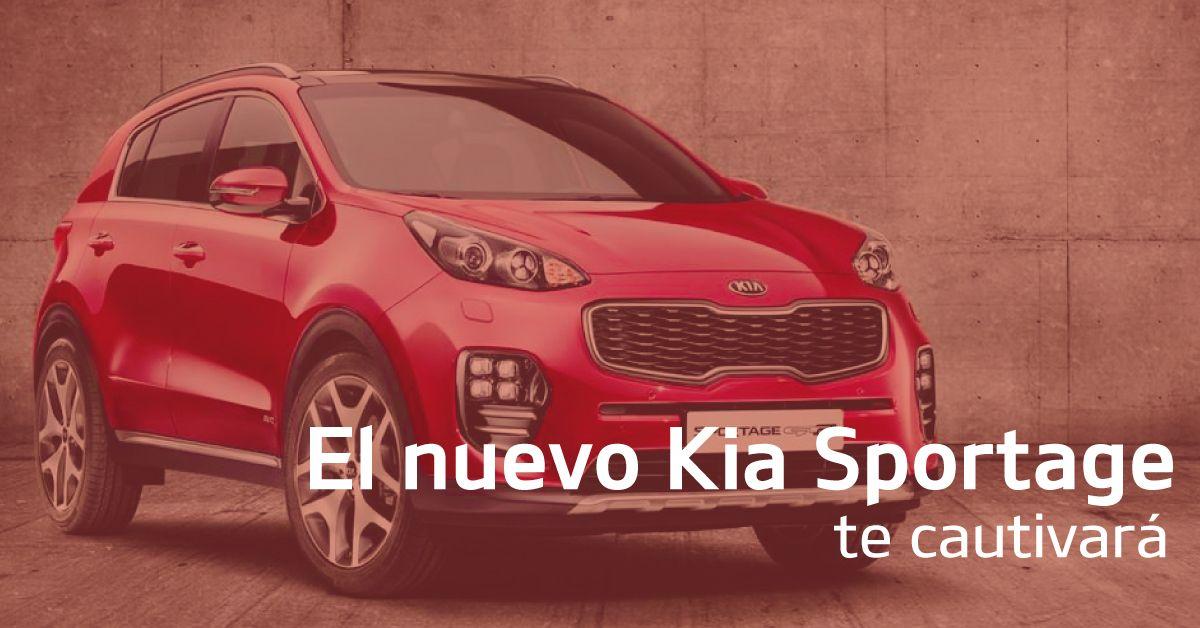 El nuevo KIA Sportage, te cautivará